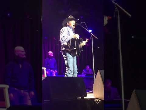george-strait-tx-governors-inaugural-2019-encore-all-my-ex's-/-i-saw-god-today-/-cowboy-rides-away