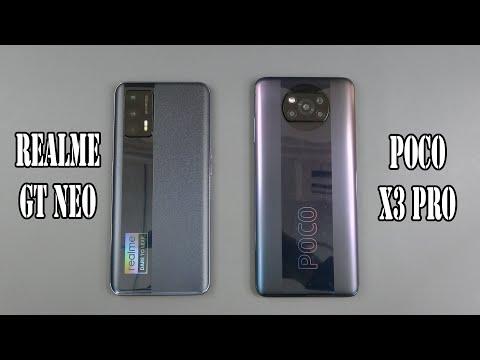 Realme GT Neo vs Poco X3 Pro | SpeedTest and Camera comparison