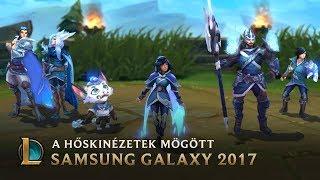 A Samsung Galaxy vébékinézetei