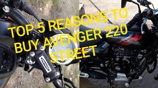 Avenger // Top 5 reasons to buy avenger 220 street // avenger 220 street  //