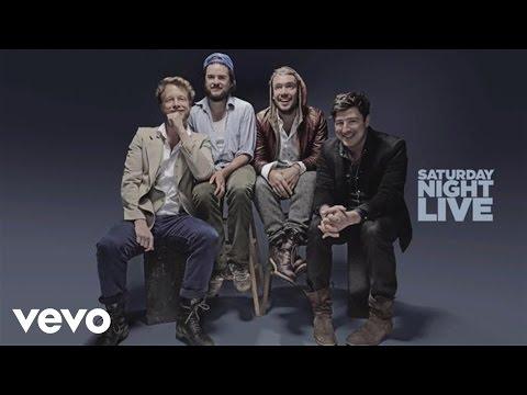 Mumford & Sons - Below My Feet (Live on SNL)