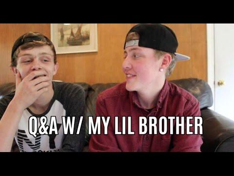 TRANS Q&A W/ MY LIL BROTHER