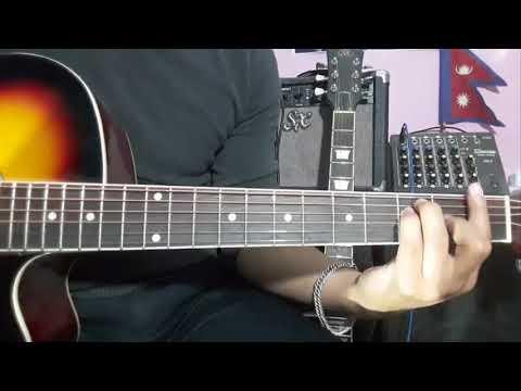 Banma Fulyo Phool Guitar lesson ( Jyovan Bhuju ft. Anu Shakya Cover )