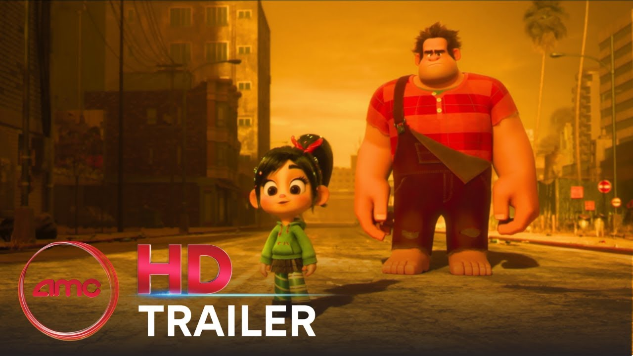 RALPH BREAKS THE INTERNET: WRECK IT RALPH 2 - Official Trailer #2 | AMC Theatres (2018)