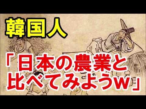 【海外の反応】韓国人「日本の農業www」