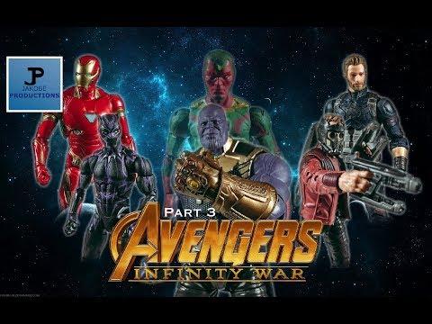 Avengers: Infinity War [Part 3 Finale] (Stop Motion Film Series]
