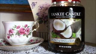 Yankee Candle Review Coconut & Vanilla Bean