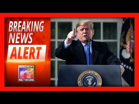 IT'S HAPPENING! TRUMP DECLARES NATIONAL EMERGENCY, CLASHES WITH HATESTREAM MEDIA!