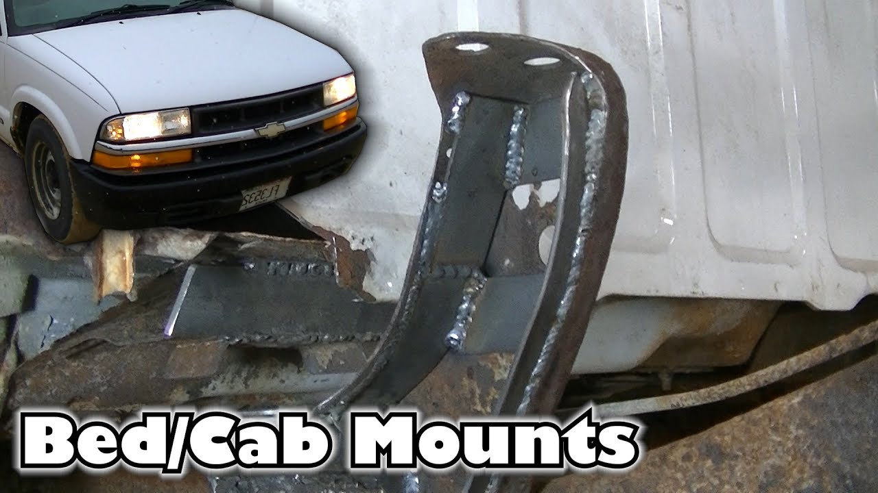 """Truck Bed Dimensions >> Project JUNK S10 """"Rusty Bed/Cab Mounts"""" - YouTube"""