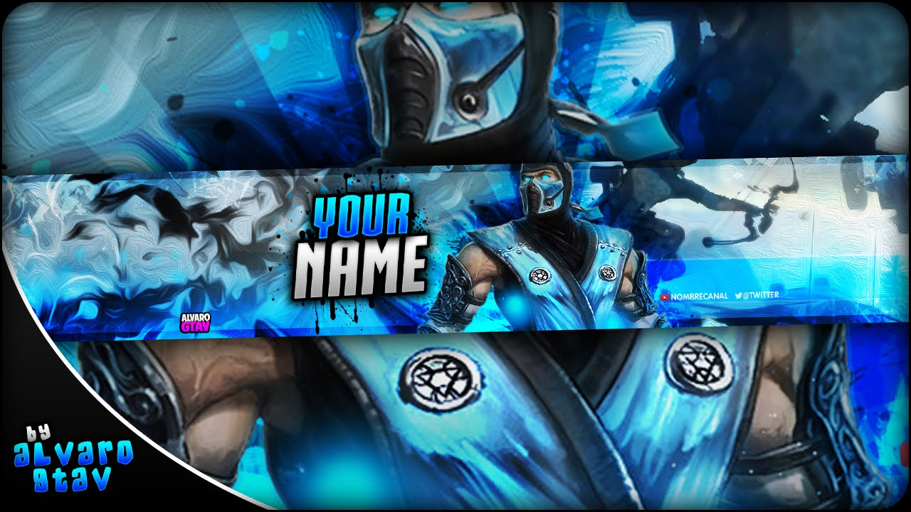 FREE GAMING BANNER TEMPLATE | BANNER EDITABLE .psd (Download Link ...