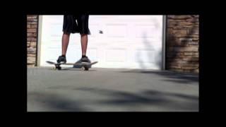 Sloppy Kickflip [Regular and Slow Motion]