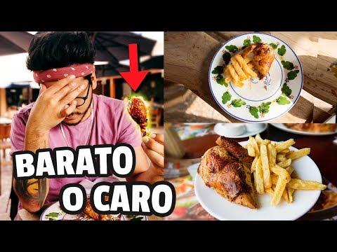 POLLO A LA BRASA BARATO VS MUY CARO   ANDYNSANE