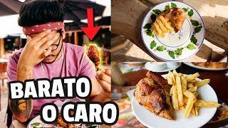 POLLO A LA BRASA BARATO VS MUY CARO | ANDYNSANE