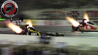 2017 NHRA Toyota Nationals @ LVMS (Part 11 - Top Fuel Qualifying session 2 Highlights)