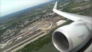 Amazing CFM56 Buzzsaw sound!! American Airlines Boeing 737-800 PHL-MIA Part 1, Takeoff in HD!