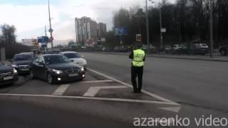 Кортеж Путина или Медведева / The motorcade Putin or Medvedev motorcade