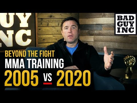 MMA TRAINING: 2005 Vs 2020