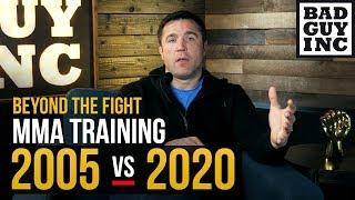 MMA TRAINING: 2005 vs 2020 / Видео