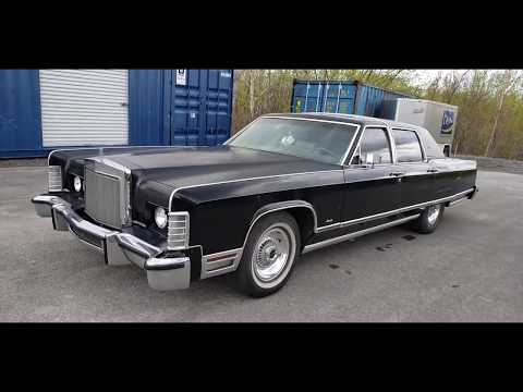 Repeat SOLD 1977 LINCOLN CONTINENTAL TOWNCAR by The