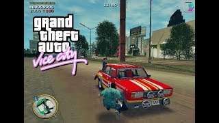 GTA: Made in USSR (GTA:VC Сделано в СССР) - Rally Chase - Gameplay