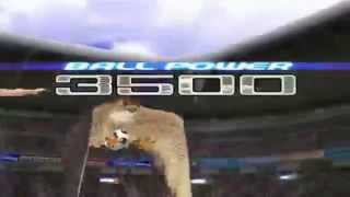 (captain tsubasa ps2 ): Shun Nitta Running Volley Peregrine Falcon Shoot
