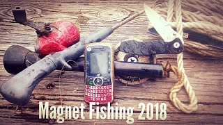 Magnet Fishing Amazing Finds First Trip Of 2018