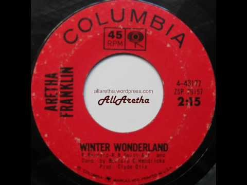 Aretha Franklin - The Christmas Song / Winter Wonderland - 7 ...