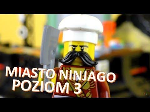 Lego Ninjago Movie Miasto Ninjago Wieżowiec Przegląd 33 Youtube