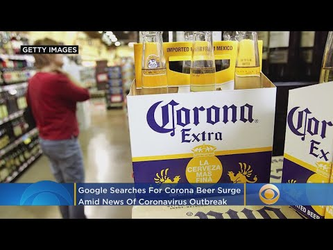 Google Searches For Corona Beer Surge As News Of Coronavirus Outbreak Spreads