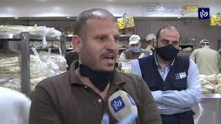 جولات تفتيشية وتوعوية على المحال التجارية المصرح لها بالعمل في عمان  (2/5/2020)