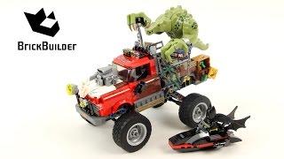 Lego Batman Movie 70907 Killer Croc Tail-Gator - Lego Speed Build