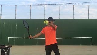テニス フォアハンドストローク 3割3割のスイング の利点 窪田テニス教室