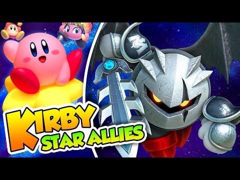 ¡El espadachín oscuro! - #23 -Kirby Star Allies en español (Switch) con Naishys