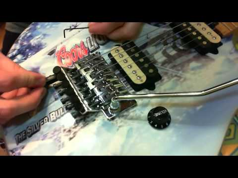 EVH D-Tuna (unboxing & installation)