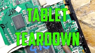 TDL- Tablet Teardown