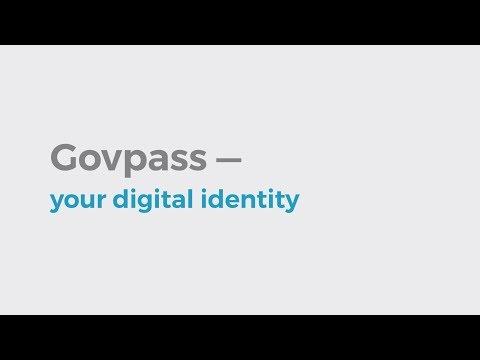 Govpass — your digital identity