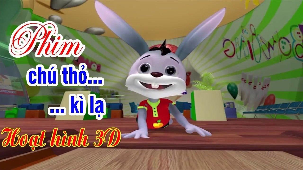 CHÚ THỎ KÌ LẠ | Phim hoạt hình 3D về cuộc sống động vật