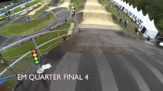 UCI BMX Supercross 2014 Papendal: GoPro Barry Nobles