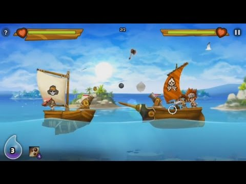 Pirate Power (by Godzilab Inc) - rpg game for android - gameplay.