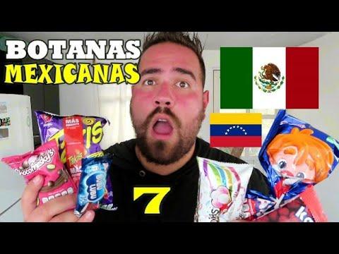 LAS BOTANAS MEXICANAS que MAS me GUSTAN - VENEZOLANO EN MEXICO