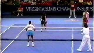 1989 Virginia Slims Champs Exo Rosie Casals/Kessaris d. Billie Jean King/Rubin