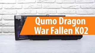 Rescue Qumo Dragon K02 / Unboxing Qumo Dragon War Було Впасти Впасти K02