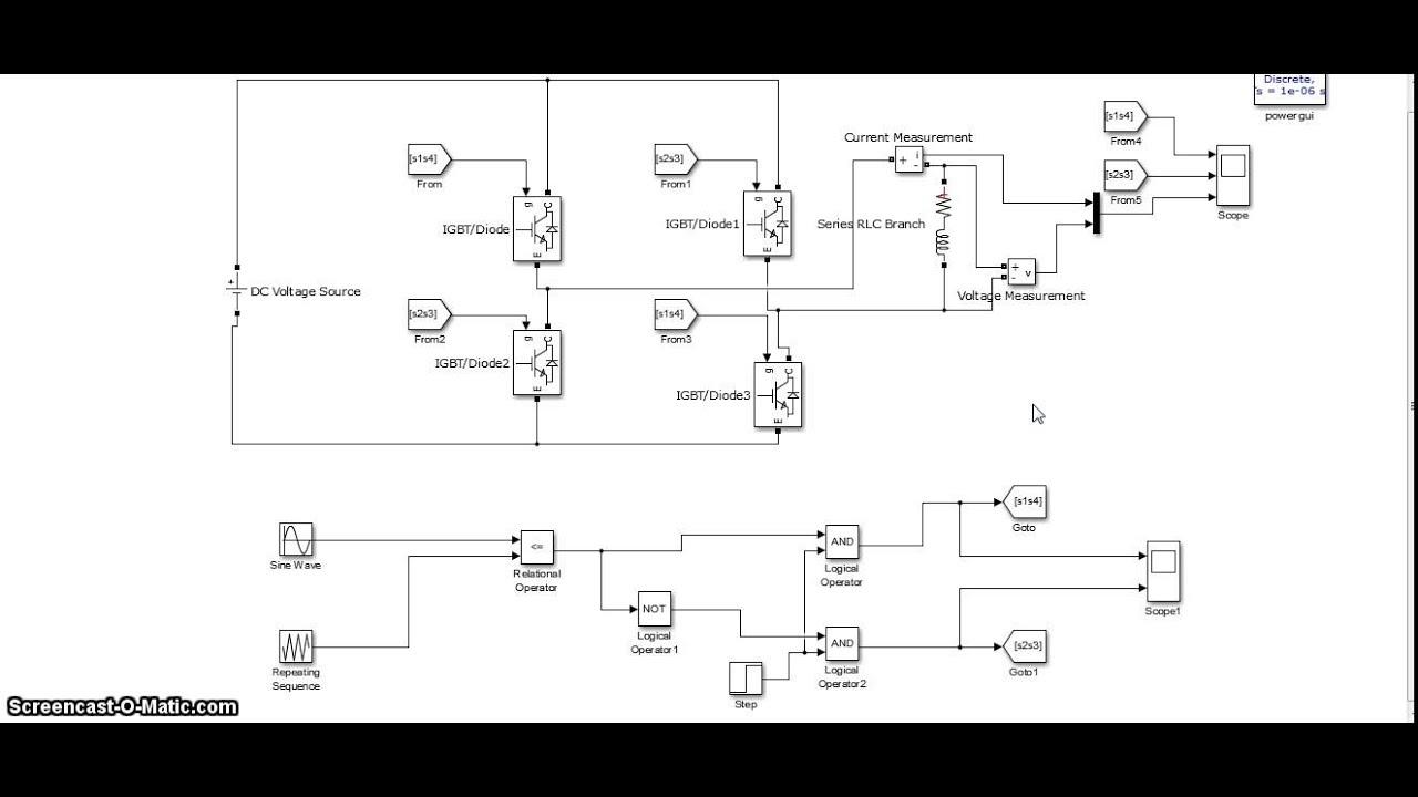 Single Phase Inverter Youtube