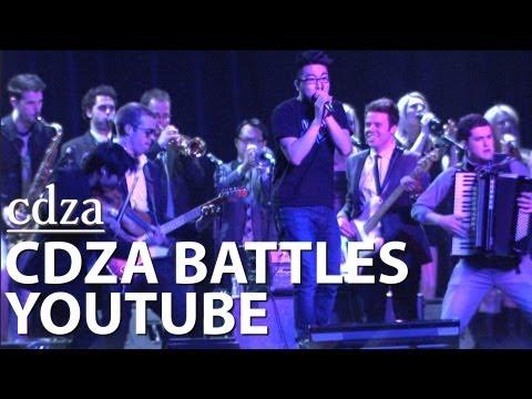 CDZA Battles YouTube (LIVE at YT Brandcast 2013)