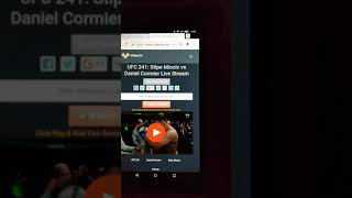 Watch any Sport Live from your device