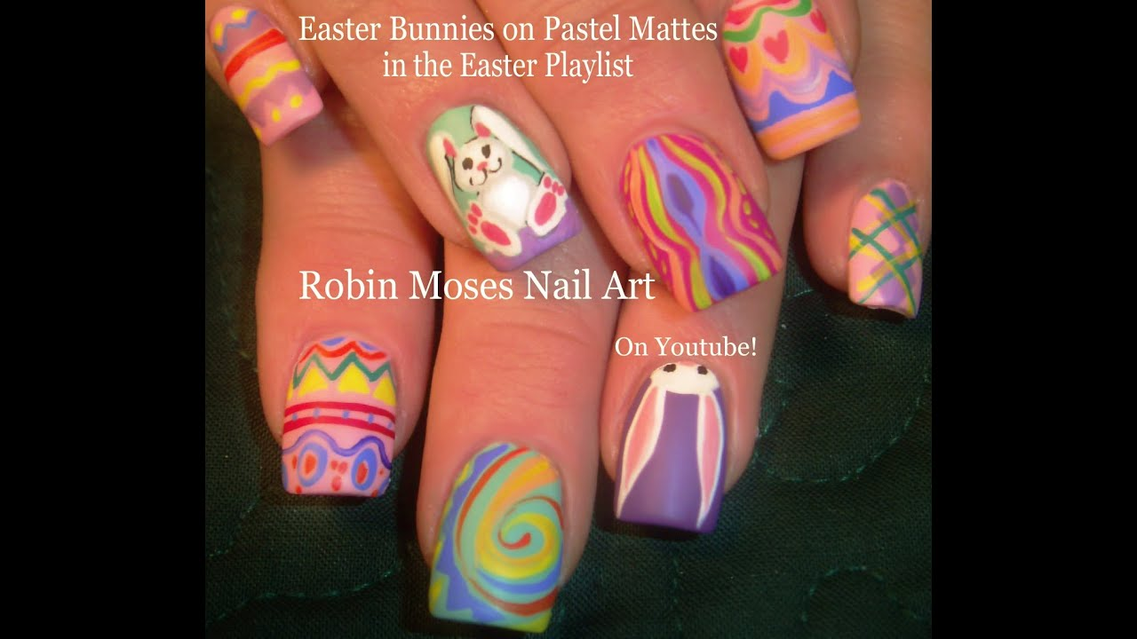 Easter Nail Art Designs Youtube Hession Hairdressing