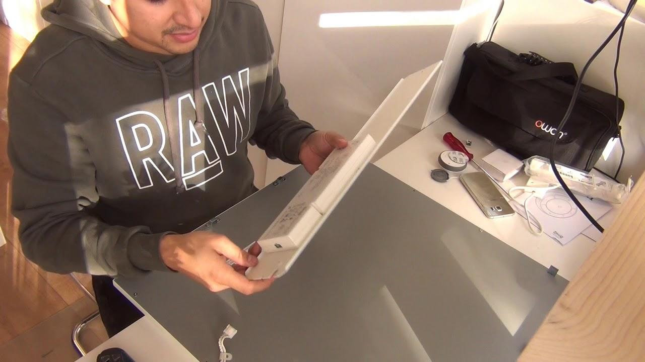 premium selection e6d18 c3e72 Ikea Smart LED FLOALT 60x60cm square LED panel Part 1