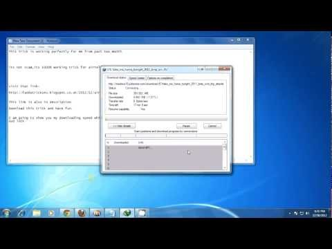Airtel 1000% Udp Vpn Trick  Without Speed Capping January 2013 By Amazing Tricks(Updated Link))