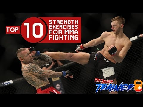 Top 10 Strength Exercises For MMA Fighters