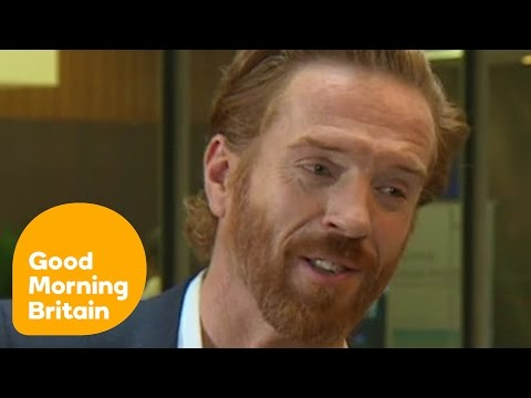 Damian Lewis On Playing The Crooked Lead In Billions  Good Morning Britain